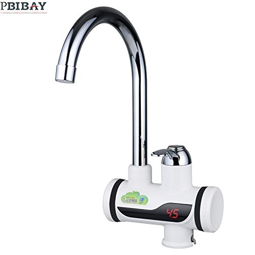 Da Jia Inc 220V Instant Tankless Electric Hot Water Heater Faucet ...