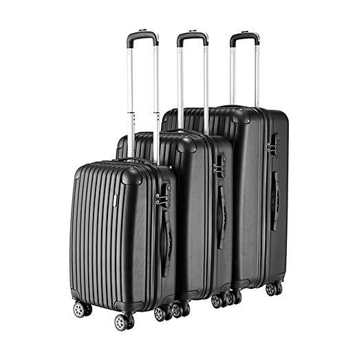 XDD Gepäck 3-teiliges Set Koffer Spinner Hardshell, Leichter Trolley mit 8 Spinner-Rädern, Koffer mit Passwort Geeignet für Wochenendausflüge oder Handgepäck 20 Zoll 24 Zoll 28 Zoll -