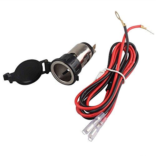 FUSD Universal 12V-24V 120W impermeable enchufe del encendedor de cigarrillos del coche...