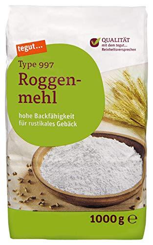 Tegut Roggenmehl Typ 997, 1.00 kg