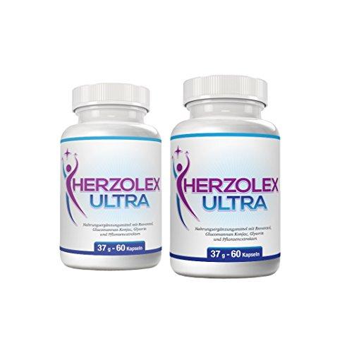 Herzolex Ultra – Diätpille für effektiven Gewichtsverlust | (1 Flasche)
