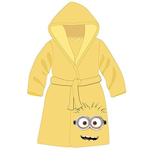 Vestaglia per bambini, motivo: Minion di colore giallo, unisex bambino, taglia 6 a 12 anni, molto dolce, 8 anni