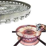 Stainless Steel Gas Saver Device, Chota Mini Papad/ Tandoor / Roaster
