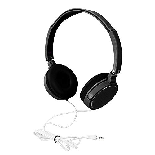 Elospy Kopfhörer auf Ohr, Faltbare 3.5mm kabelgebundene on Ear Kopfhörer mit Verbessertem Bass und Stereo Sound, Headsets für TV, Handy, Laptop and andere Geräten