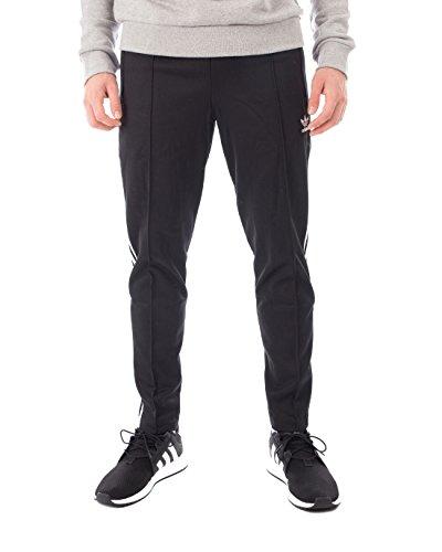Black Vinyl Pants (adidas Herren Hose Beckenbauer, Black, L, CW1269)