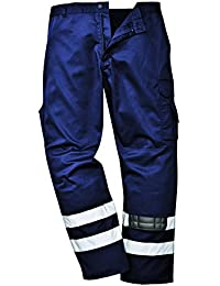 PORS917NATXXL - Iona Safety Combat Trouse Navy T - XXL T - XXL EU / XXL UK