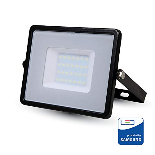 Projecteur LED V-TAC PRO Noir 30 W Samsung Chip VT-30