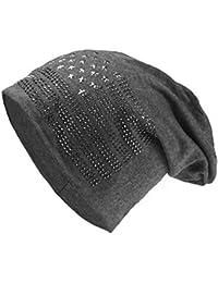 Glamexx24 Cappello Lungo a Stella Cappello a Stella Unisex Cappello Caldo e  Morbido in Autunno e 4a9dbd047b5a