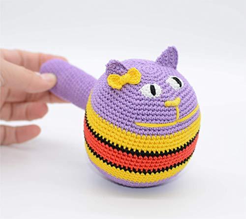 AntiStress Ball, Amigurumi Katze, Kuscheltiere, gefüllte Kitty Geschenk