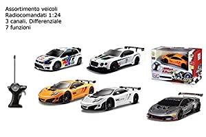 MACDUE-FRAC R/C Coche Racing, vehículo, Escala 1: 24,, 3.md81140
