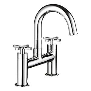 Mira Showers 2.1819.004 Revive Modern Contemporary Bath Filler Tap - Chrome