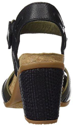 El Naturalista N5032 Soft Grain Mola, i Tacchi Alti con Punta Chiusa Donna Nero (Black)