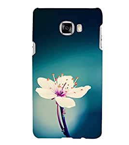 Print Masti Designer Back Case Cover for Samsung Galaxy C7 SM-C7000 (Tree Grass Stair Case Road )