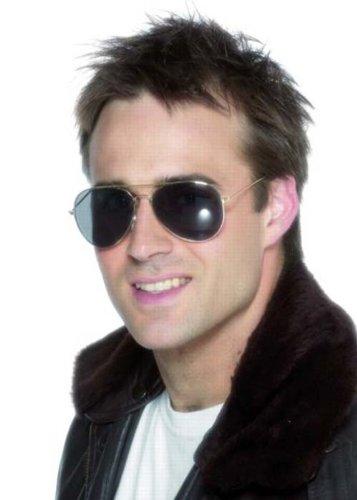 80er Jahre Rock Star Aviator Sonnenbrillen
