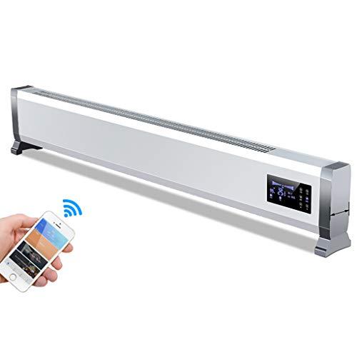 Heater Calefacción eléctrica por Suelo Radiante, Calentador de Placa Base, Control Remoto Inteligente...