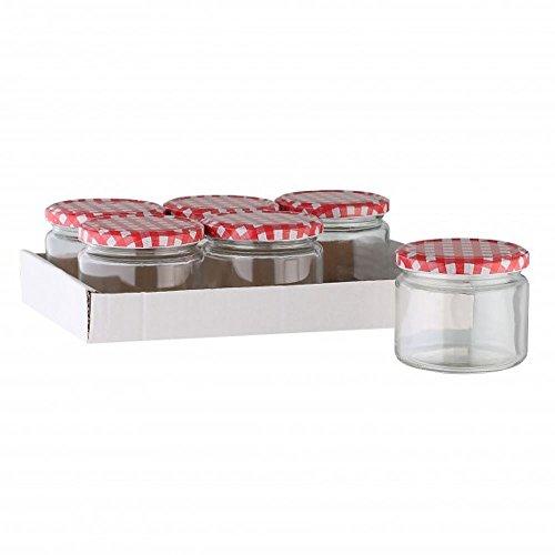 11 99 viva haushaltswaren 6 x marmeladenglas einmachglas. Black Bedroom Furniture Sets. Home Design Ideas