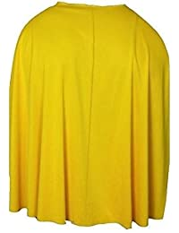 "Adults One Size SuperHero 24"" Seamed Budget Super Hero / Villain Capes"