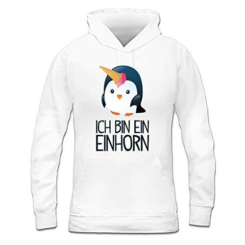 Ich-bin-ein-Einhorn-Frauen-Kapuzenpullover-by-Shirtcity