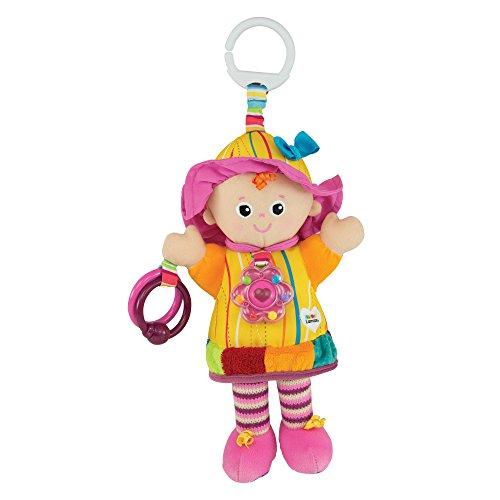 Lamaze Baby Spielzeug Meine Freundin Emily Clip & Go - hochwertiges Kleinkindspielzeug - Greifling Anhänger zur Stärkung der Eltern-Kind-Beziehung - ab 0 Monate