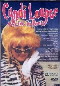 Cyndi Lauper Live In Paris
