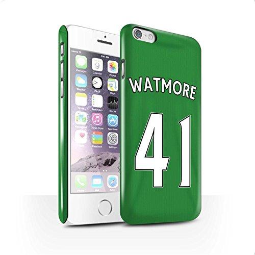Offiziell Sunderland AFC Hülle / Glanz Snap-On Case für Apple iPhone 6 / Pack 24pcs Muster / SAFC Trikot Away 15/16 Kollektion Watmore