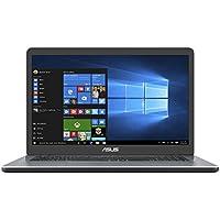 """Asus R702UA-BX245T PC Portable 17,3"""" HD+ Gris (Intel Core i3, 6 Go de RAM, Disque Dur 1 To + SSD 128 Go, Intel HD Graphics, Windows 10) Clavier Français AZERTY"""