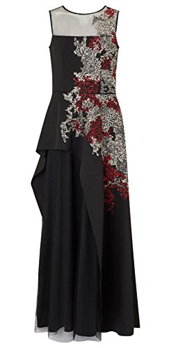 Electra Scuba Waterfall Dress