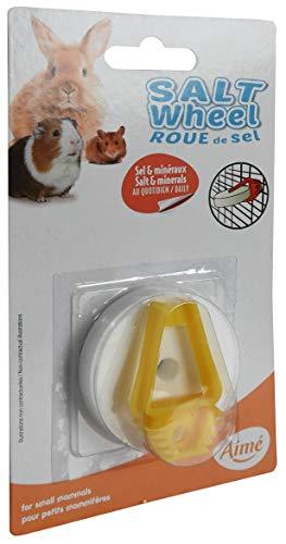 Aimé Bloque Mineral Rueda de Sal para roedores