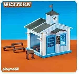 Playmobil 6279 Ecole du Far west NOUVEAUTE 2013