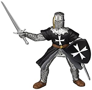 Papo 39938 - Figura, diseño de Caballero hospitalario con Espada