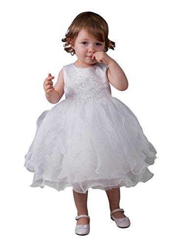 Boutique-Magique Robe de baptême bébé Blanche 89f65fe3703