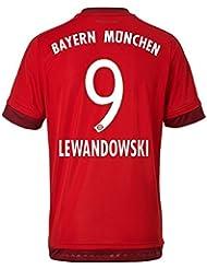 Trikot Adidas FC Bayern München 2015-2016 Home (Lewandowski 9, S)