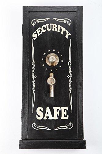 """point-home Schlüsselkasten Schlüsselschrank Schlüsselbox """"Safe"""" Retro-Design aus Holz NEU"""