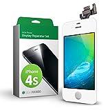 GIGA Fixxoo iPhone 4s Pantalla Tàctil Completa Blanco, LCD de Recambio y Herramientas,...
