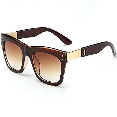 Z-P New Style Fashion Women's Wayfarer Dazzle Colour Film UV400 Sunglasses 51MM