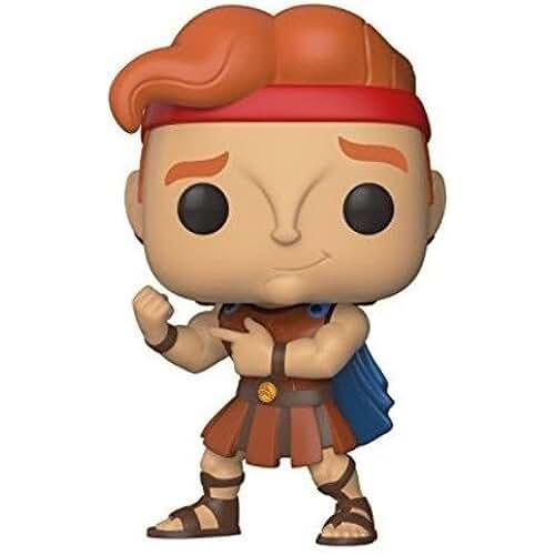 munecos pop kawaii Funko POP! Hercules Disney Figura de vinilo, color standard, 9 cm (29322)