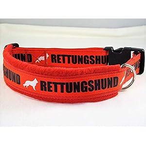 Halsband Rettungshund 50-55 cm Halsumfang
