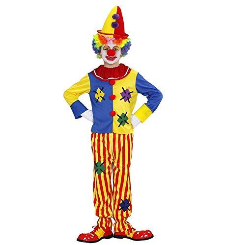 Clown-Costume-de-fantaisie-pour-enfants