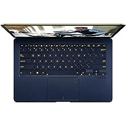 ASUS Zenbook 3 Deluxe UX490 (90NB0EI1-M02700) 35,6 cm (14 Zoll, Full-HD) Ultrabook (Intel Core i7-7500U, 16GB RAM, 512GB SSD, Intel HD Graphics, Windows 10 Home) Royal Blau Asus ZenBook Pro