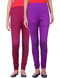 Belmarsh Warm Leggings - Pack of 2 (Mouve_Purple)
