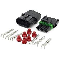 1 box 2 3 4 6 polig Stecker Steckverbinder Flachstecker Motorrad Roller Auto RX