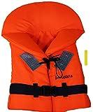 Rettungsweste / Kinderrettungsweste mit Leuchtstab von 10 bis über 90 Kg aus der Bootskiste (15 - 20 Kg)
