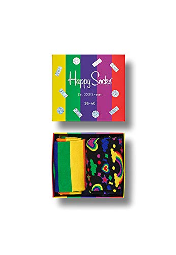 Happy Socks Geschenkbox PRIDE GIFT BOX 2-PACK SXPRI02-0100 Multi, Size:36-40