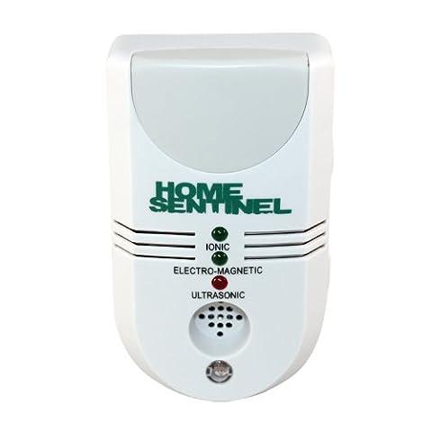 Aspectek Home Sentinel (5en1) pour la Maison - Appareil Ultrason Prise UK Anti Moustique, Anti Mouche, Anti Araignées, Anti nuisible et parasitaire