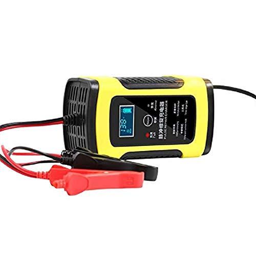 Alwayswe 12V 6A Moto Auto Carica batterie all Intelligent Riparazione Piombo Acido Storage Caricabatterie Caricatore Universale