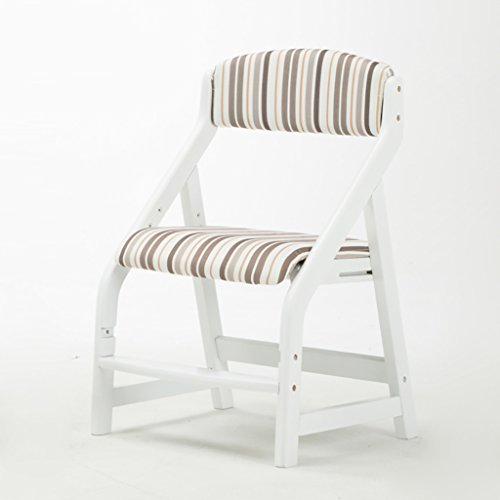HHCS Chaise d'apprentissage des enfants peut être élevée et abaissée chaise d'étudiant solide bois posture chaise chaise de bureau à la maison retour chaise d'écriture Chaises et tabourets