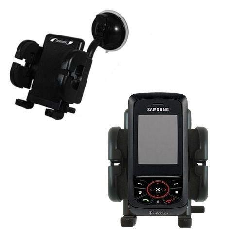 Samsung SGH-T729 Windschutzscheibenhalterung für KFZ / Auto - Cradle-Halter mit flexibler Saughalterung für Fahrzeuge