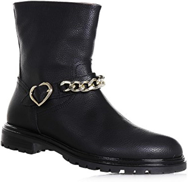 98f60dcc334b81 twin-set Noir bottines en cuir, avec une une une conception unique de  qualité qui est typique des enfants, des filles...b075lhpzjd parent   Une  Grande ...