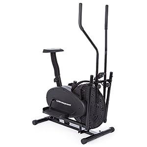 Ultrasport Basic X-Trainer 250 Crosstrainer / Ellipsentrainer trainiert Beine Gesäß Hüfte Arme Schultern und Muskeln, Fitnessbike mit Multifunktionscomputer inklusive Kalorienverbrauch Anzeige