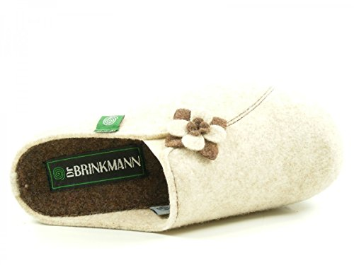 Dr. Brinkmann 330132 Chaussons femme Beige